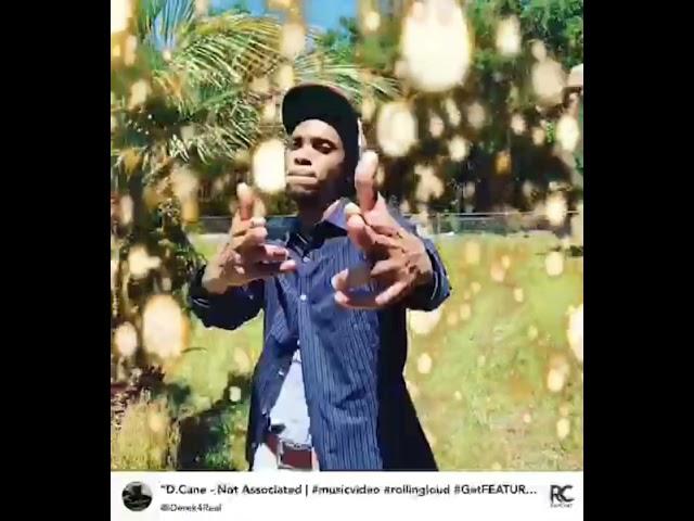 D.Cane – Not Associated [HipHop/Rap] 2021 | iDerek4Real #hiphop #music #rap