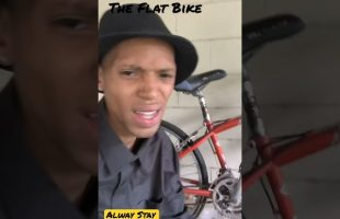 They Told Me Ride The Flat Bike | iDerek4Real