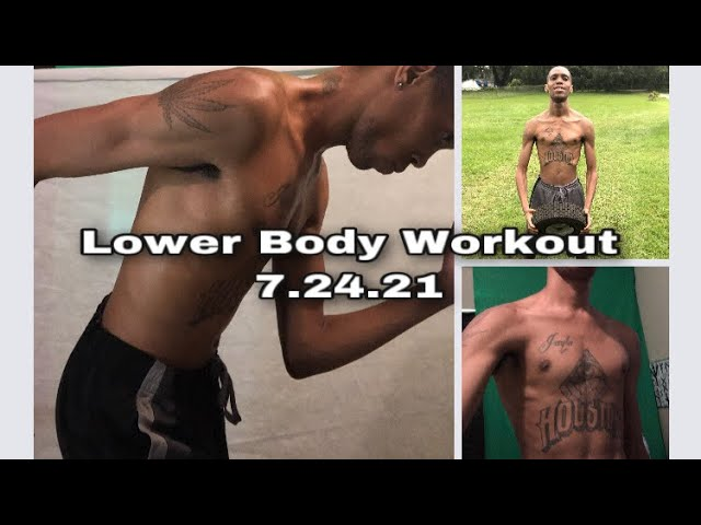 Lower Body Workout | Get Fit With Derek | #exercise #believe #workout #exercisedaily iDerek4Real